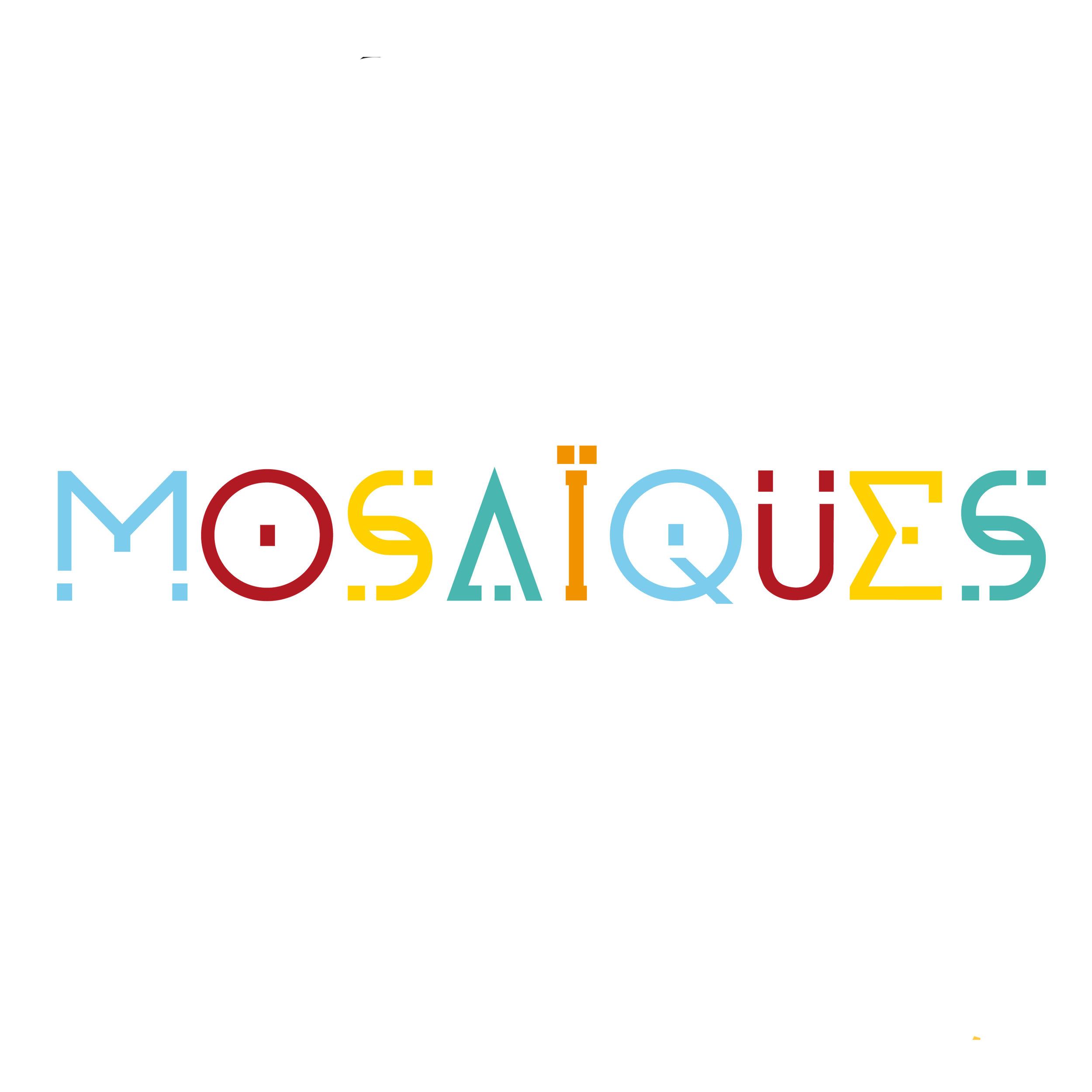 Logo for a world music festival