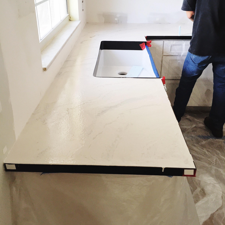 Concrete Countertops Marble Look Alike