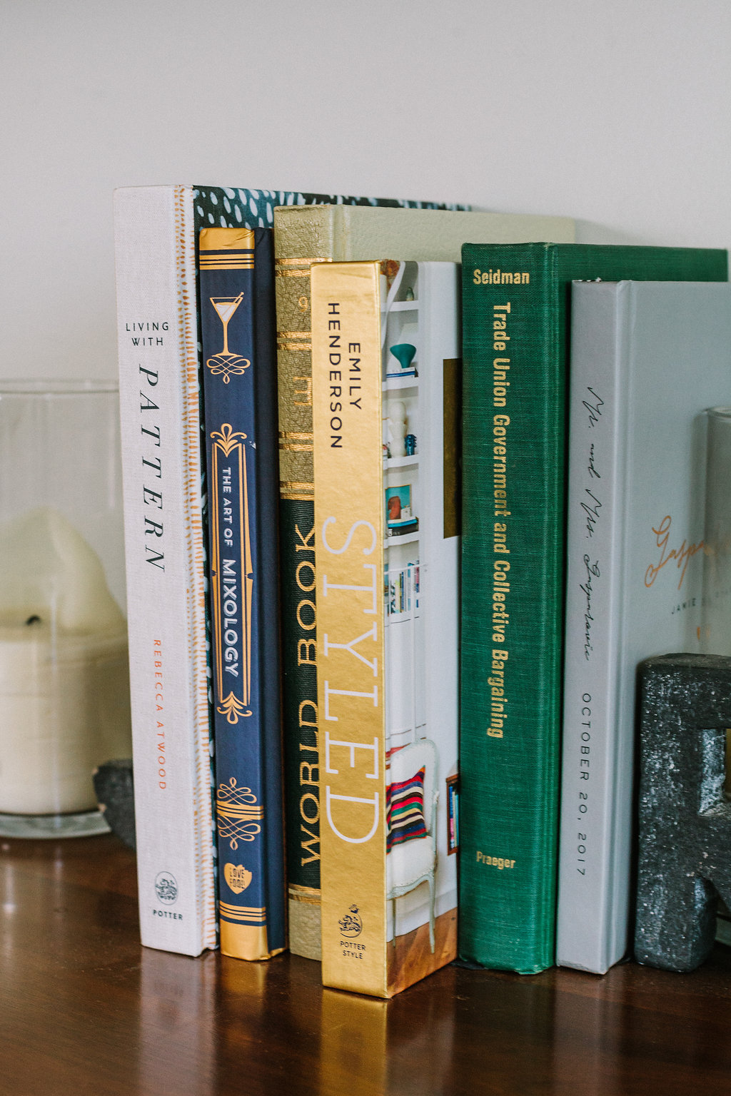 Using books for decorating