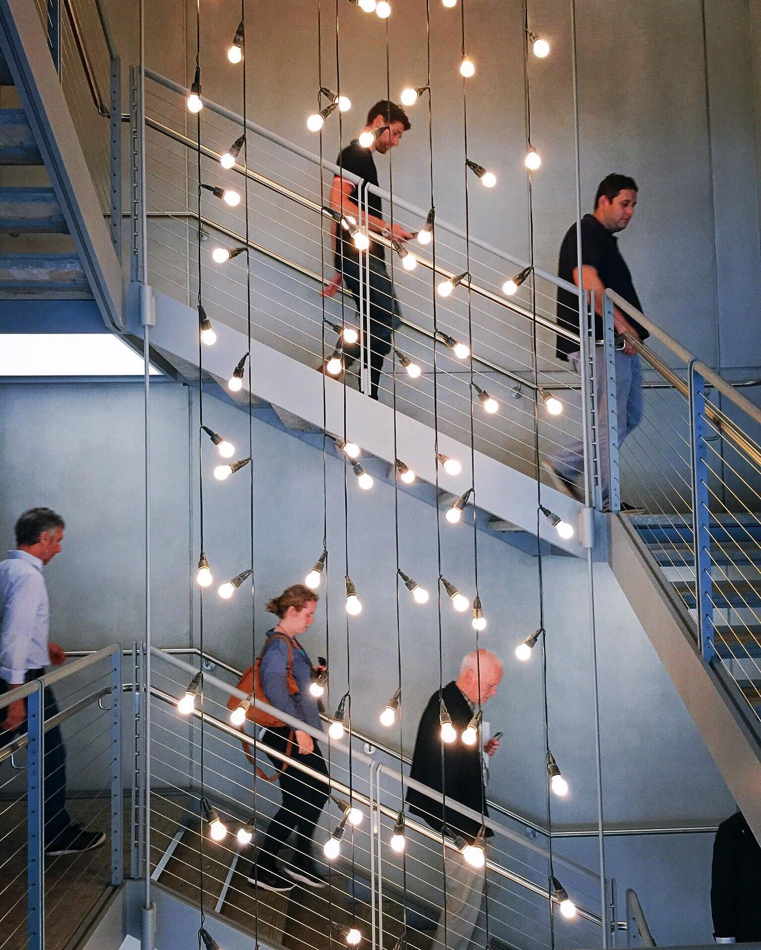Follow the light(bulbs)