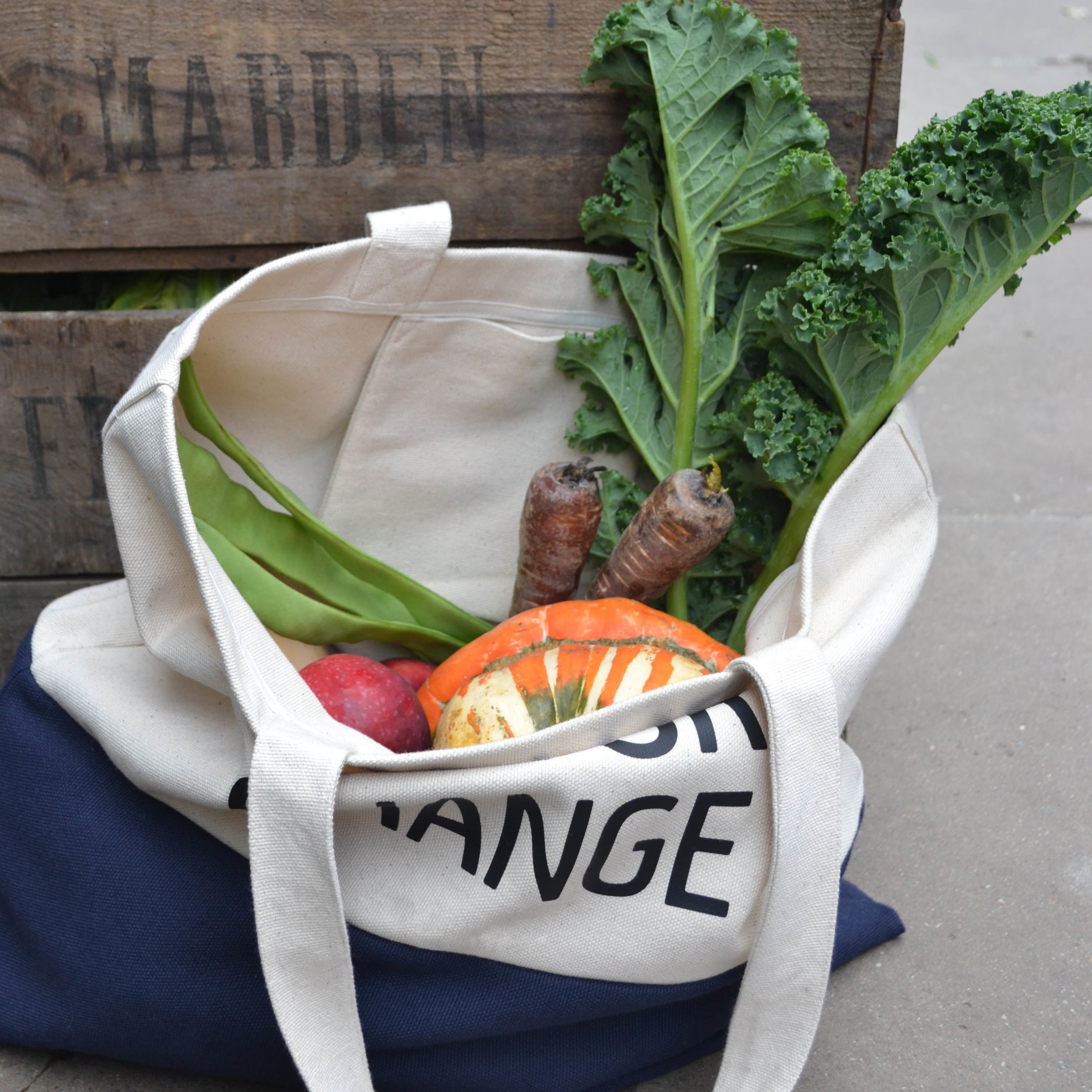 Bag For Change and with zero waste shopping