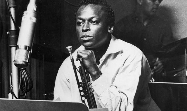 Miles Davis in listening mode