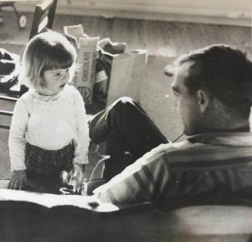 Me and dad, Kerry Keegan, 1938-2017