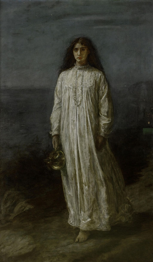 The Somnambulist, by Sir John Everett Millais