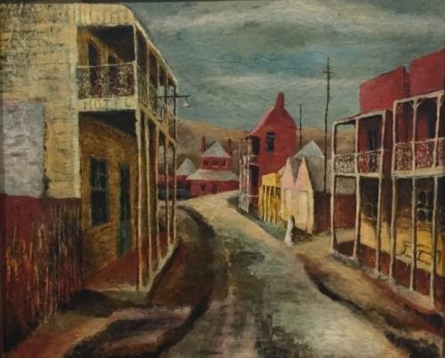 Sofala, 1947, by Donald Friend.