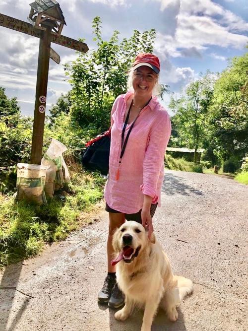 Summer stroll with Alfie