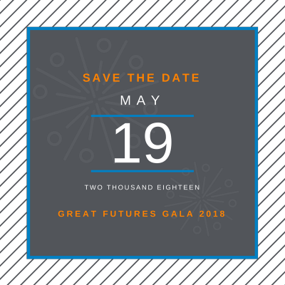 - The 2018 Great Futures Gala is scheduled for May 19th, 2018. It is bound to be a great night filled with dancing and a tent overflowing with generosity. Mark your calendars, invite your friends, and continue to share the great work happening in Muskegon County.Until then, there are plenty of other opportunities to get involved; opportunities to donate your time, talent, and treasures! Contact the Club at 231-375-5576 or info@bgclubmuskegon.com for more information.
