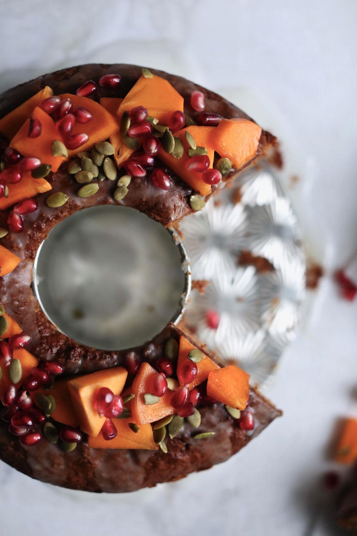 persimmon cake recipe