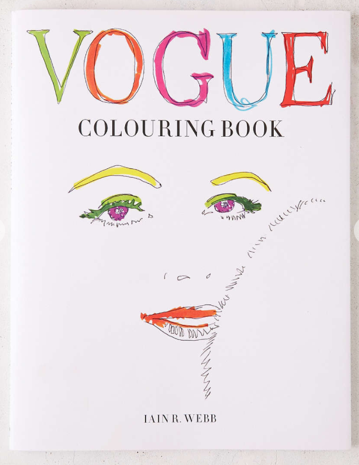 Vogue Coloring Book By Iain R. Webb