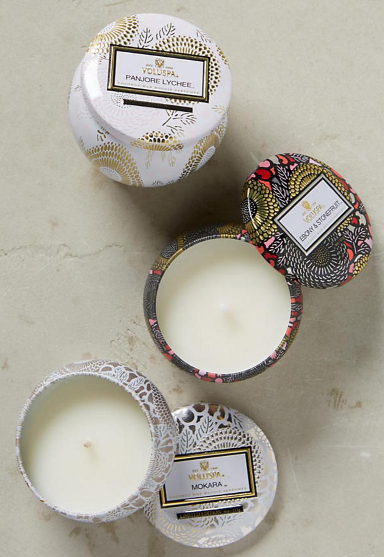 Voluspa Limited Edition Japonica Mini Candle Set
