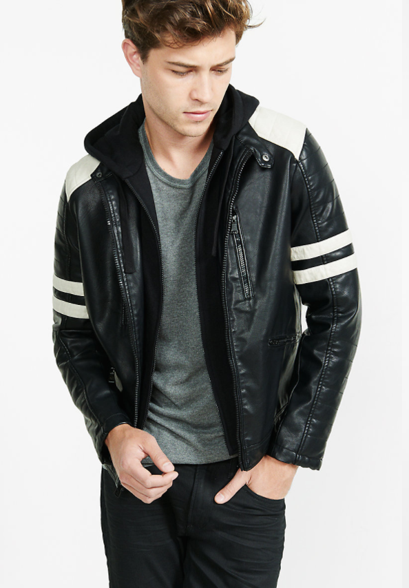 (Minus The) Leather 2-IN-1 Racer Jacket