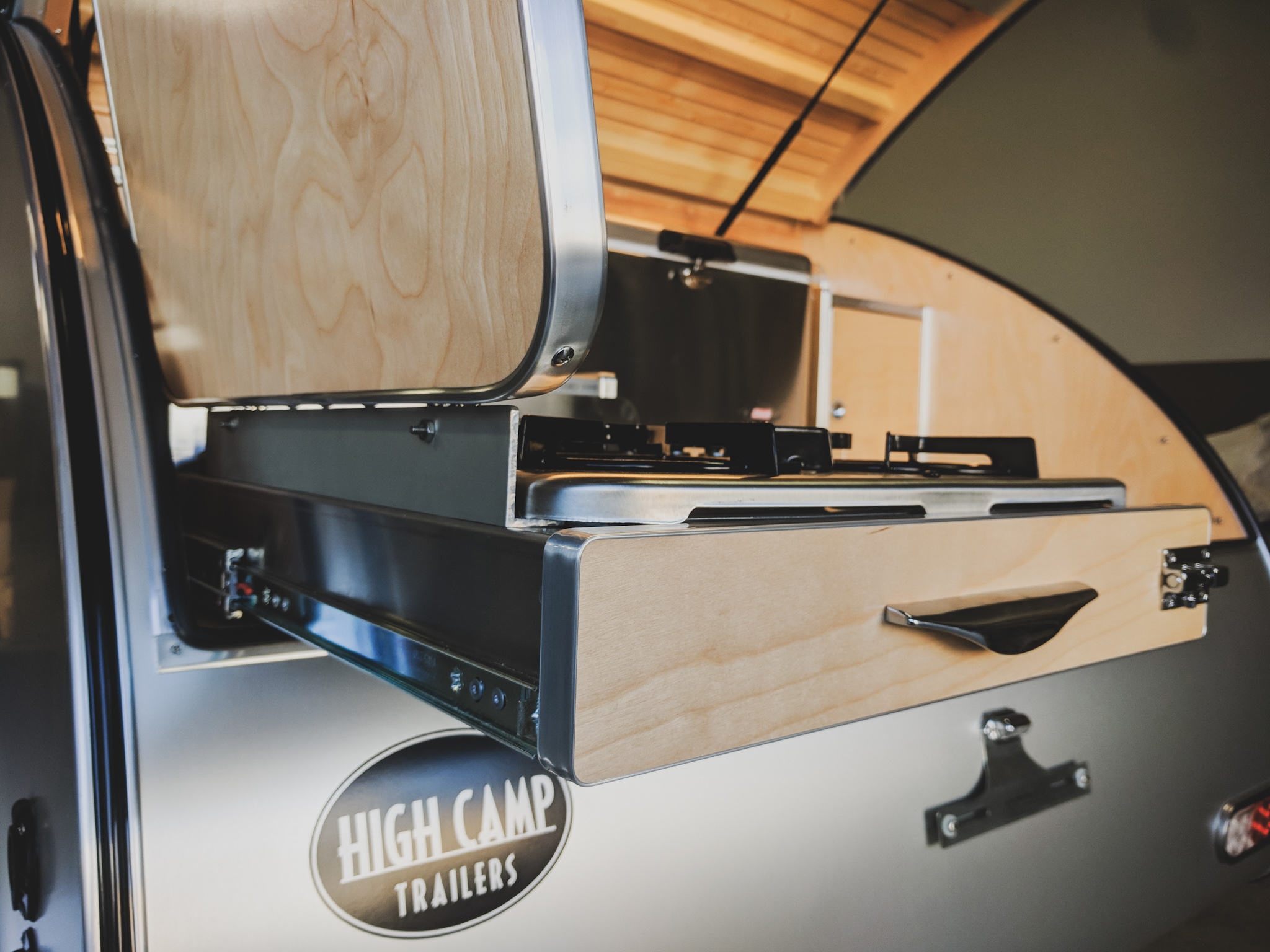 Trailer Galley Images High Camp Trailers Compact Camping Teardrop