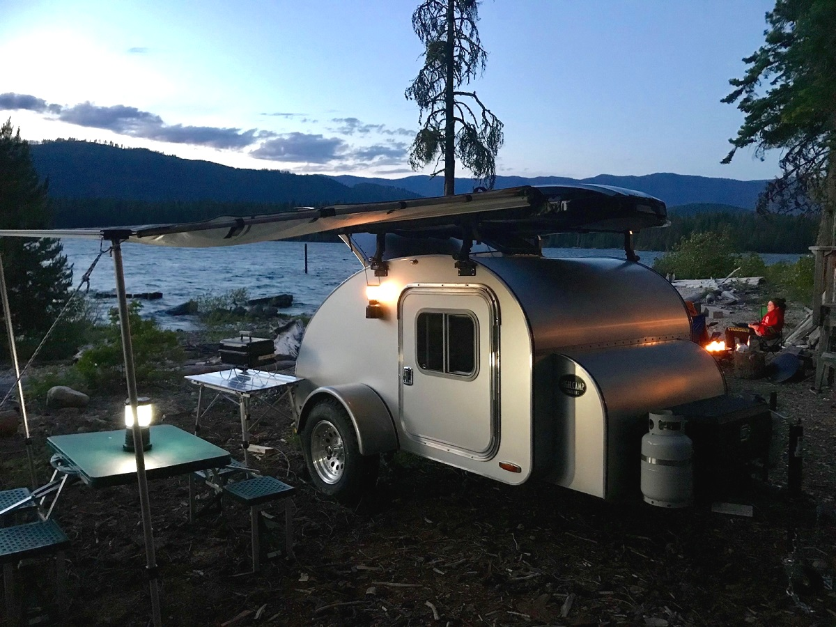High Camp Trailers | Compact Teardrop Camping Trailers