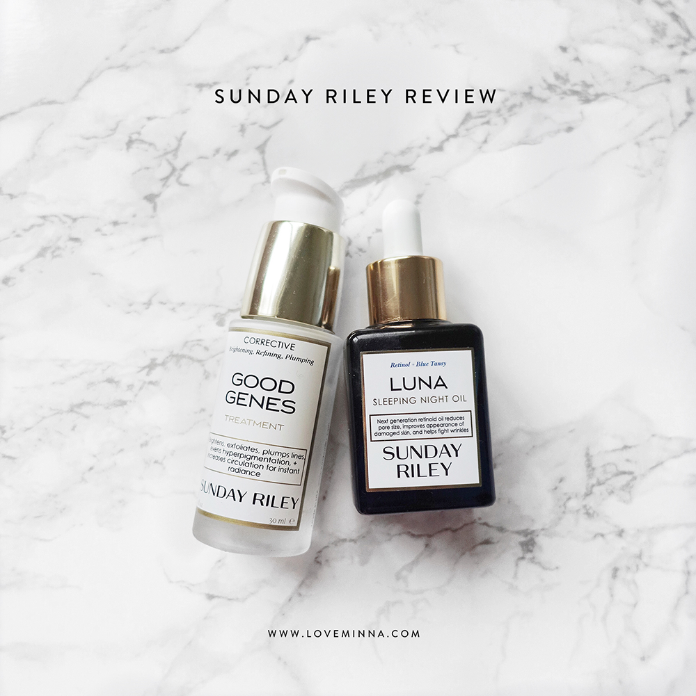 Sunday Riley Luna Sleeping Night Oil & Good Genes Treatment
