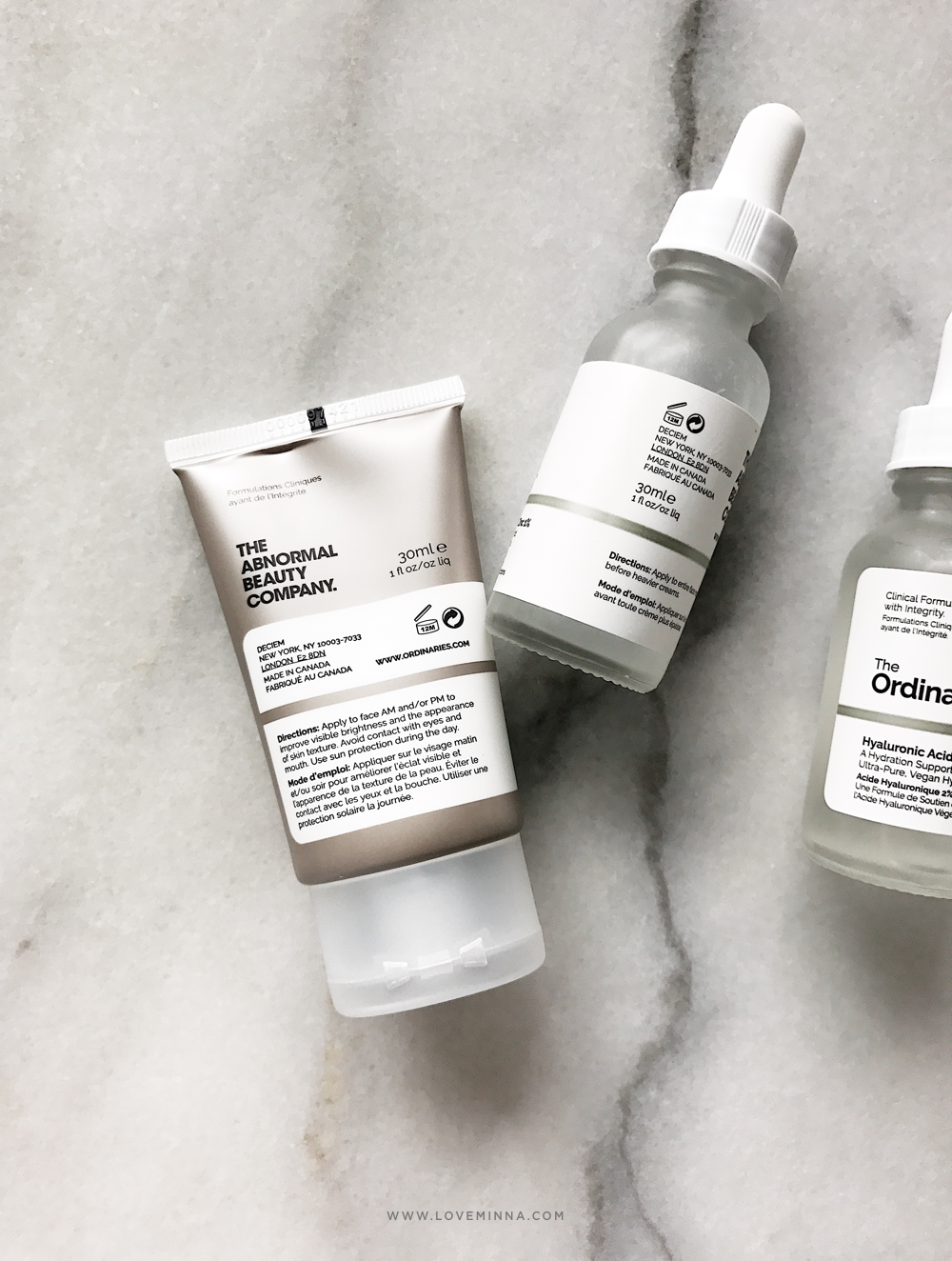 The Ordinary Azelaic Acid Suspension Niacinamide Hyaluronic Acid