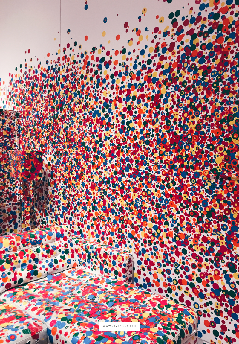 Yayoi Kusama Dot Exhibit