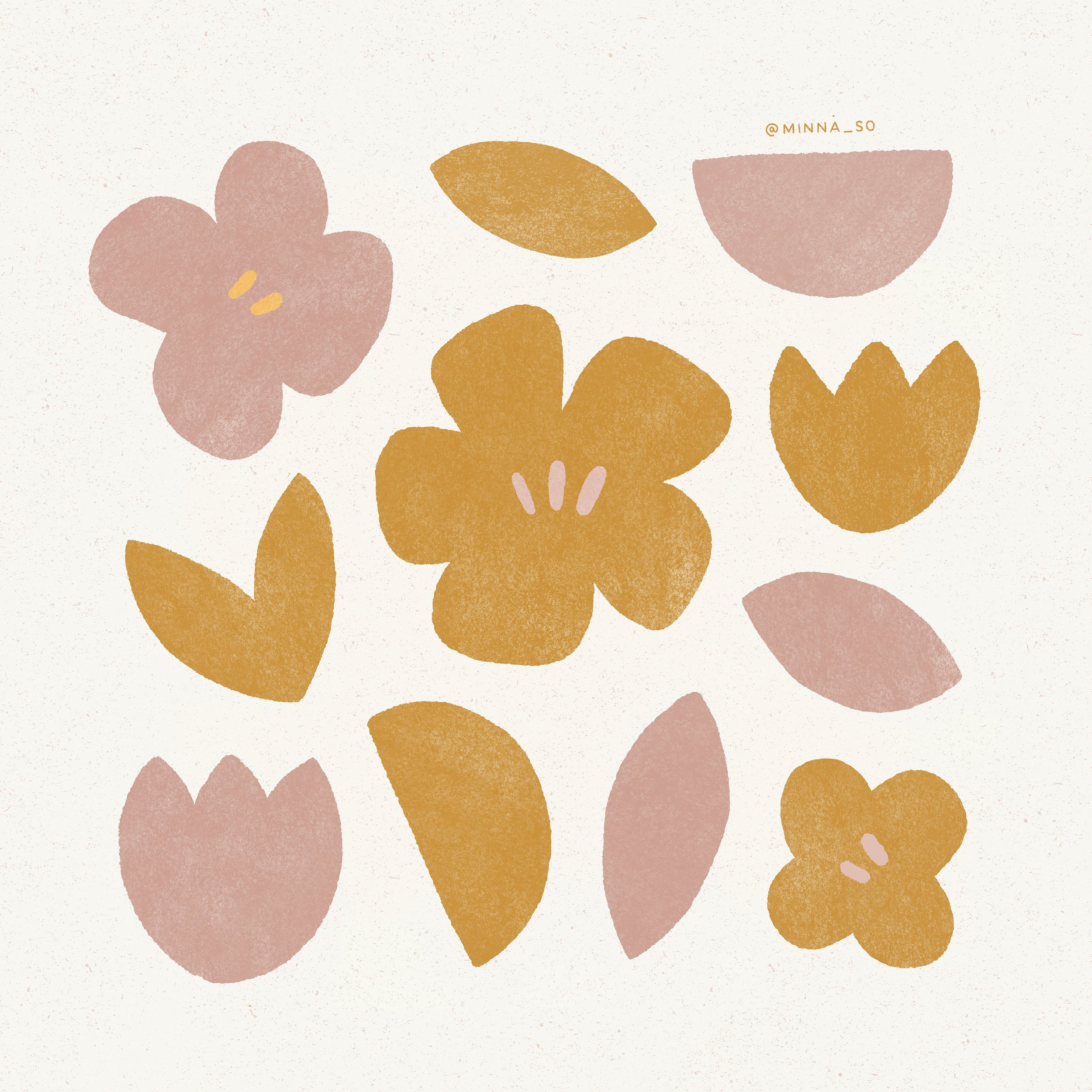 floral illustration by minna so