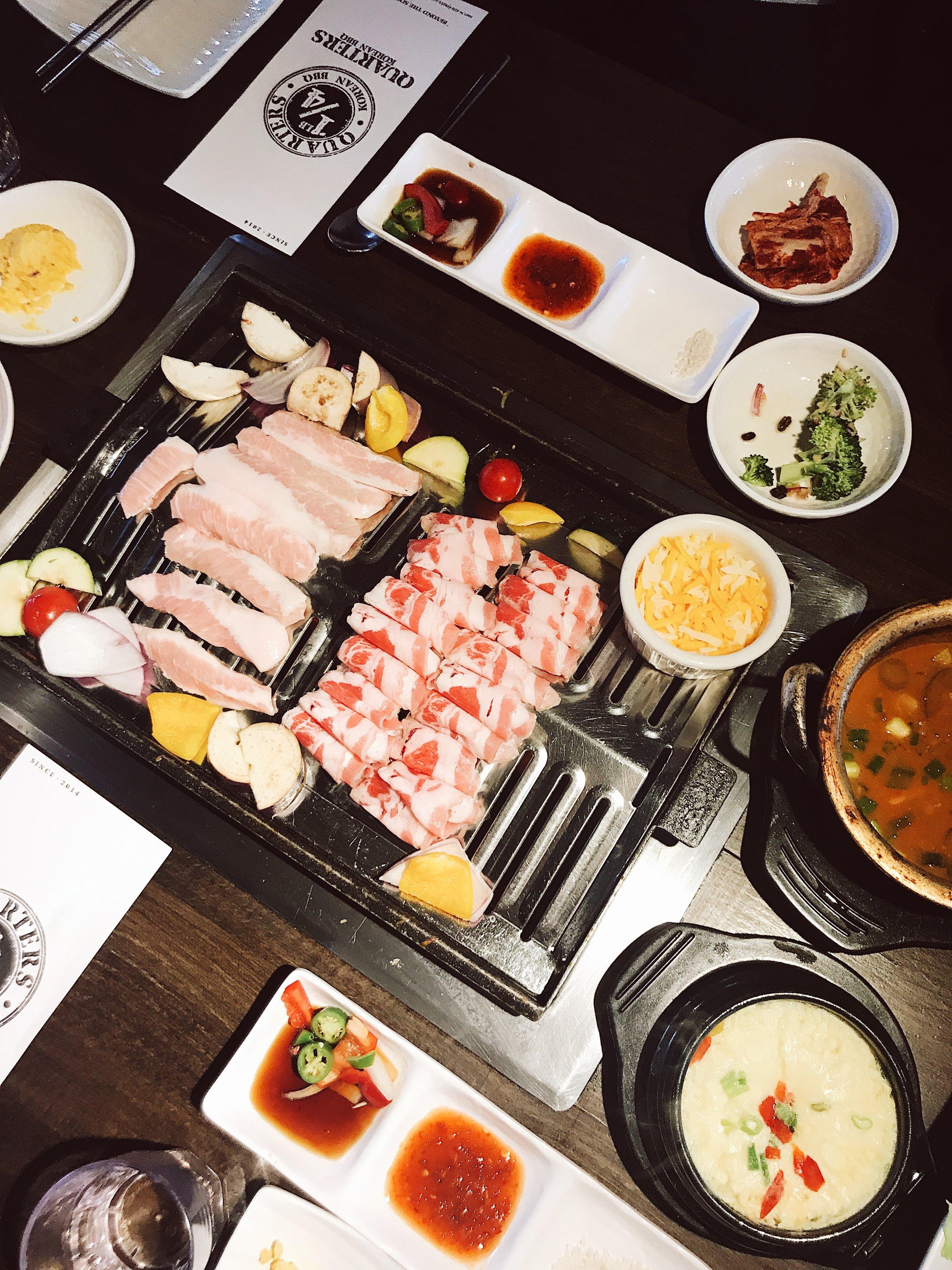 Quarters Korean BBQ