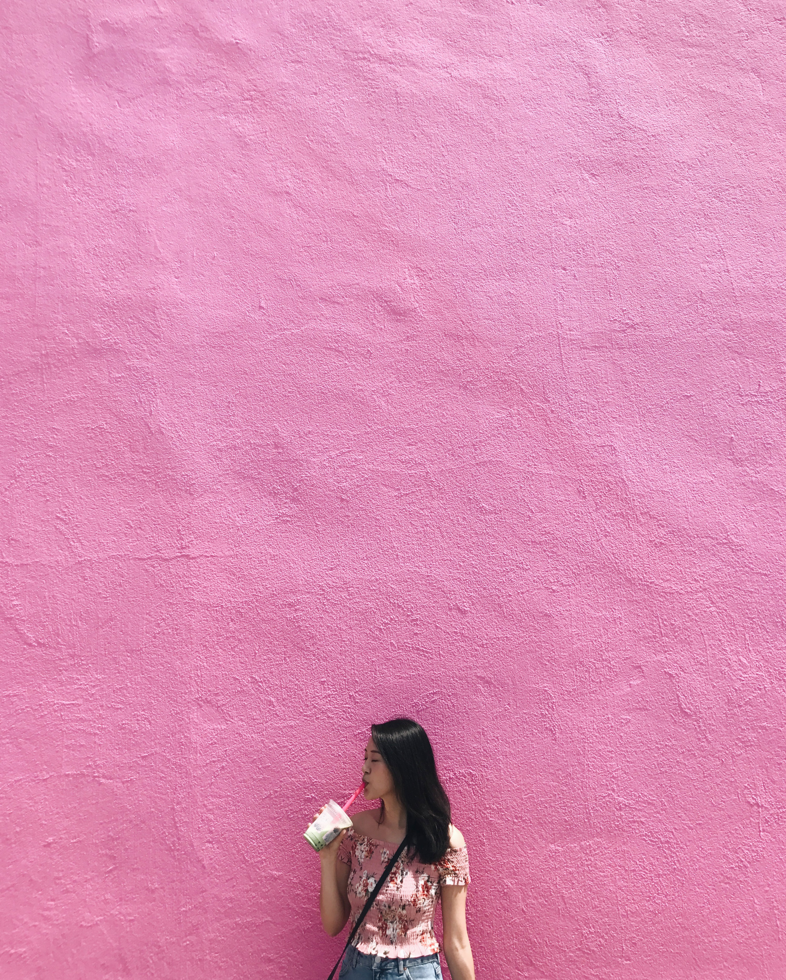 Pink Wall @ Paul Smith Building