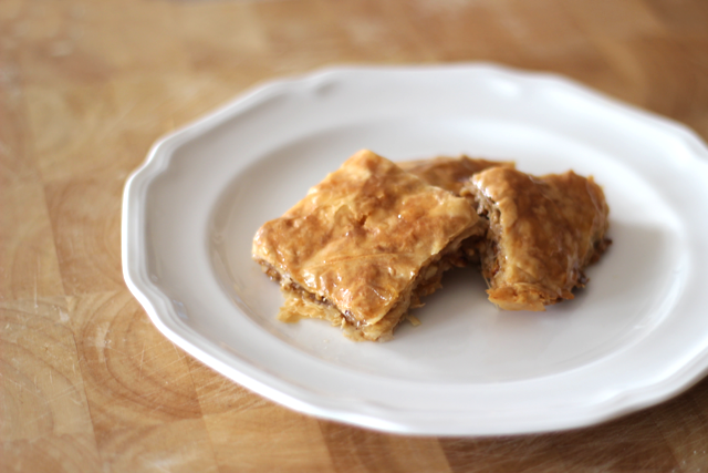 Easy Simple Baklava Recipe