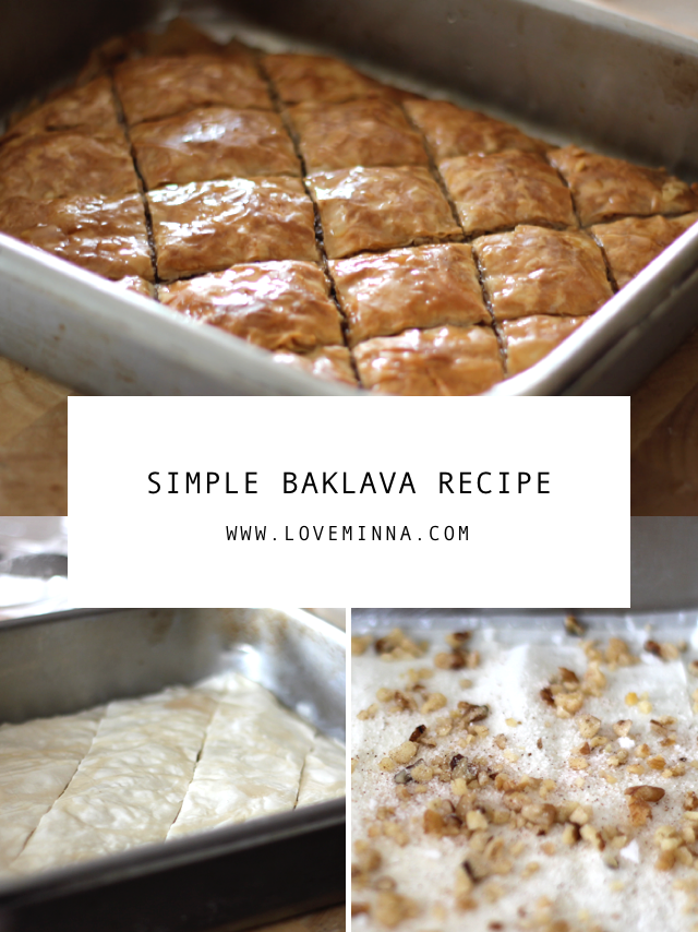 Easy Delicious Simple Baklava Recipe