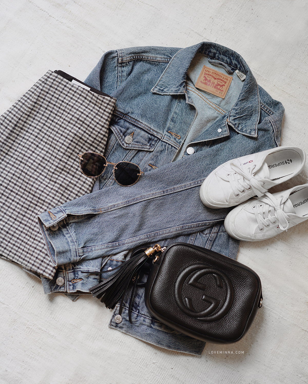 Love Minna Spring Summer Outfit Flatlay