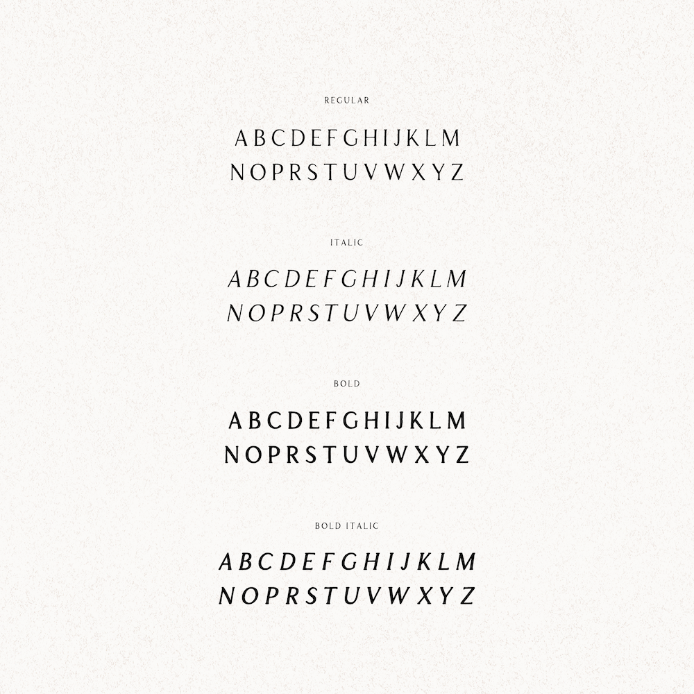 Apricot Typeface by Minna So