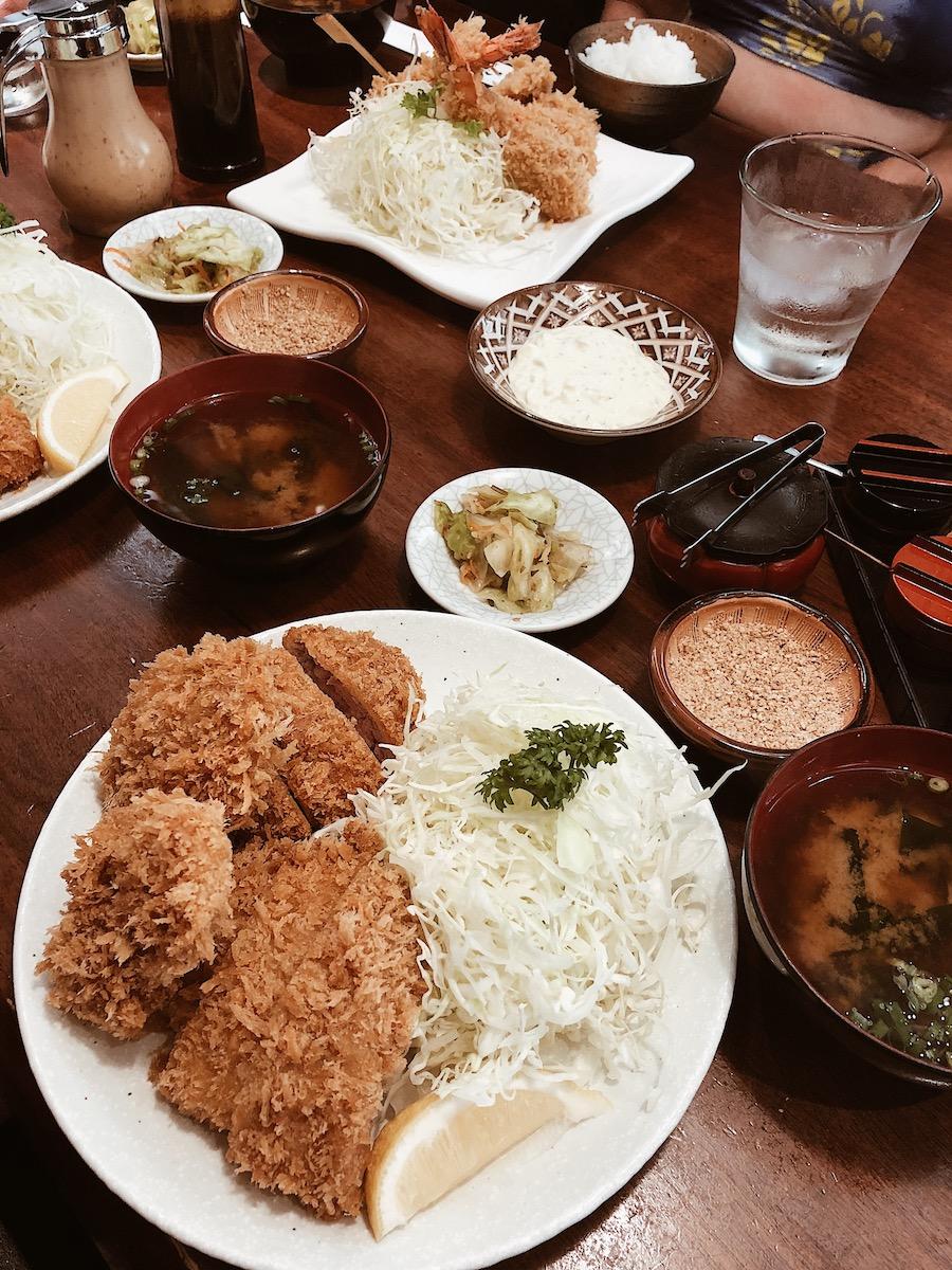 Tonkatsu Ginza Bairin Honolulu Hawaii - Love, Minna