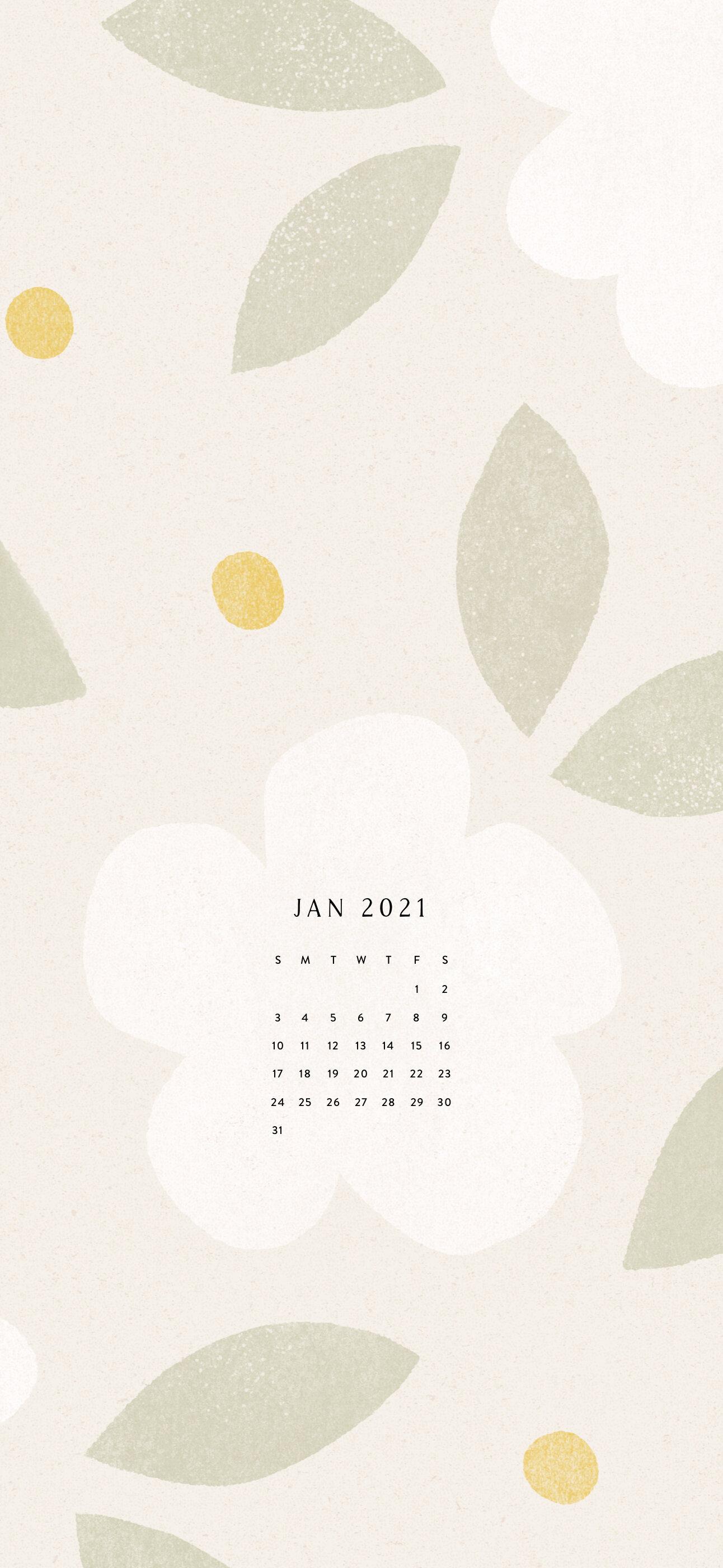 January Calendar Phone Wallpapers Love Minna