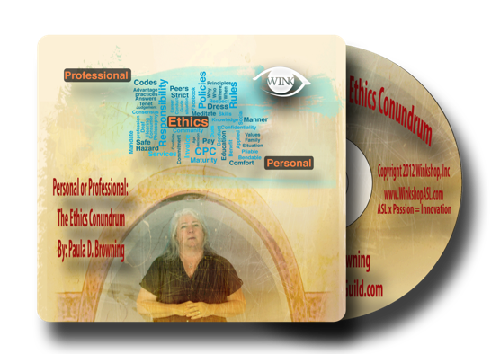 Click Here for Personal or Professional: The Ethics Conundrum (.3 CEUs)    Cost: $20.00