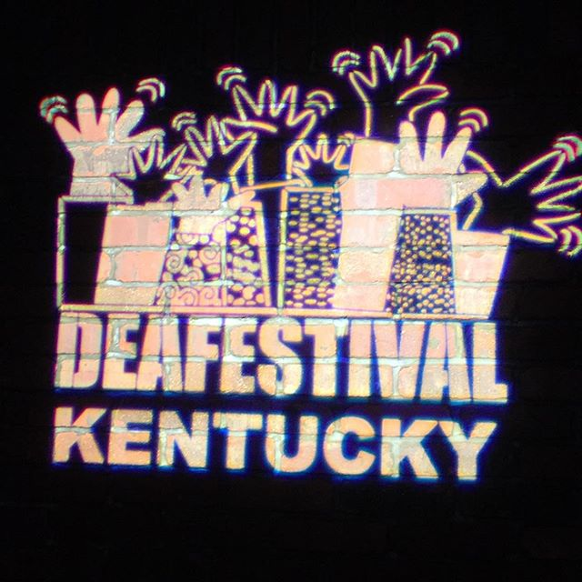 The high of #deafestivalky will hopefully carry me till the next one in 2 years! :) thanks to al those who make it happen!