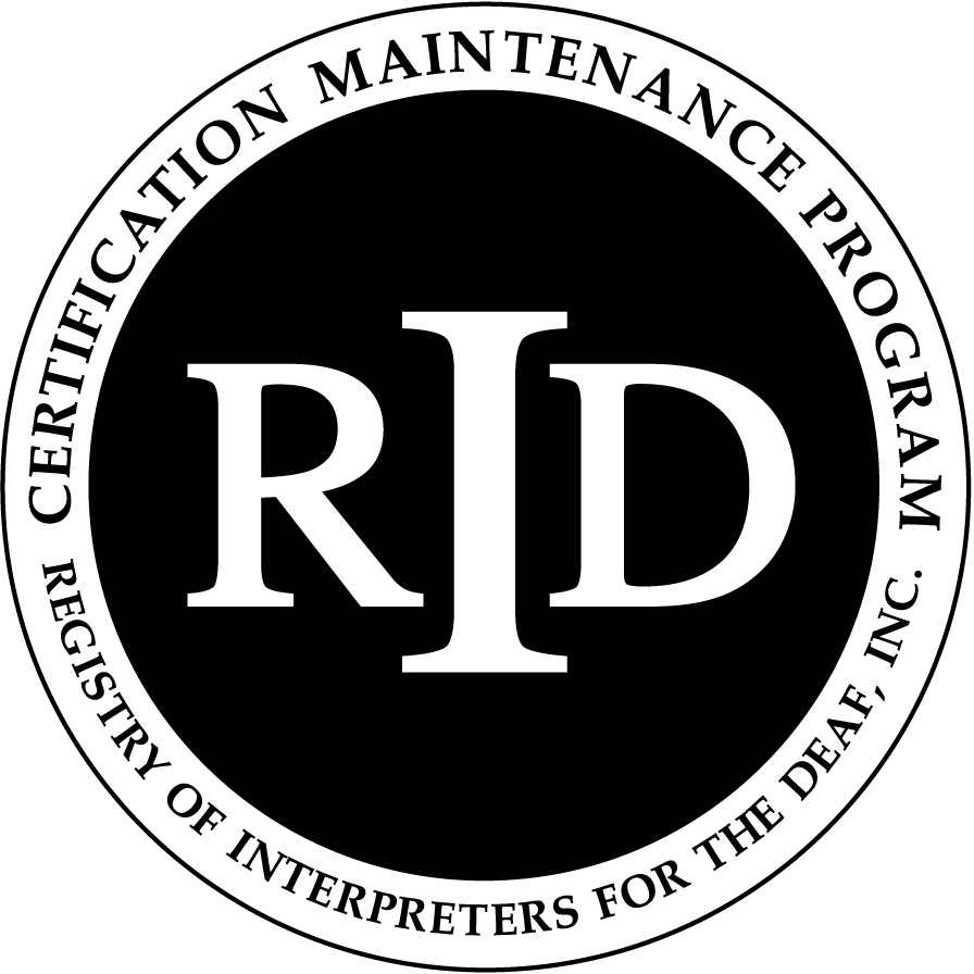 The RID Certification Maintenance Program Seal