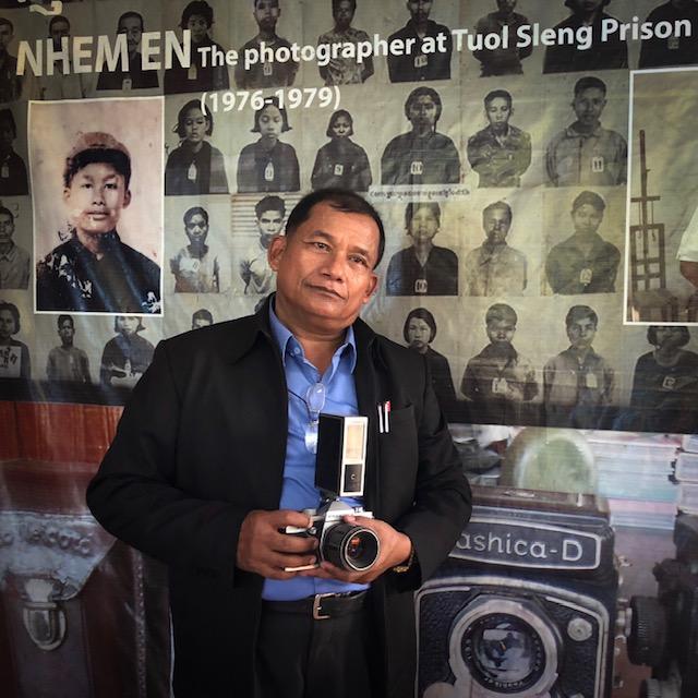 Nhem En and his work