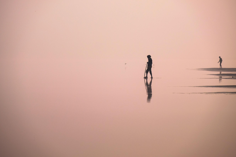 Walking on water…