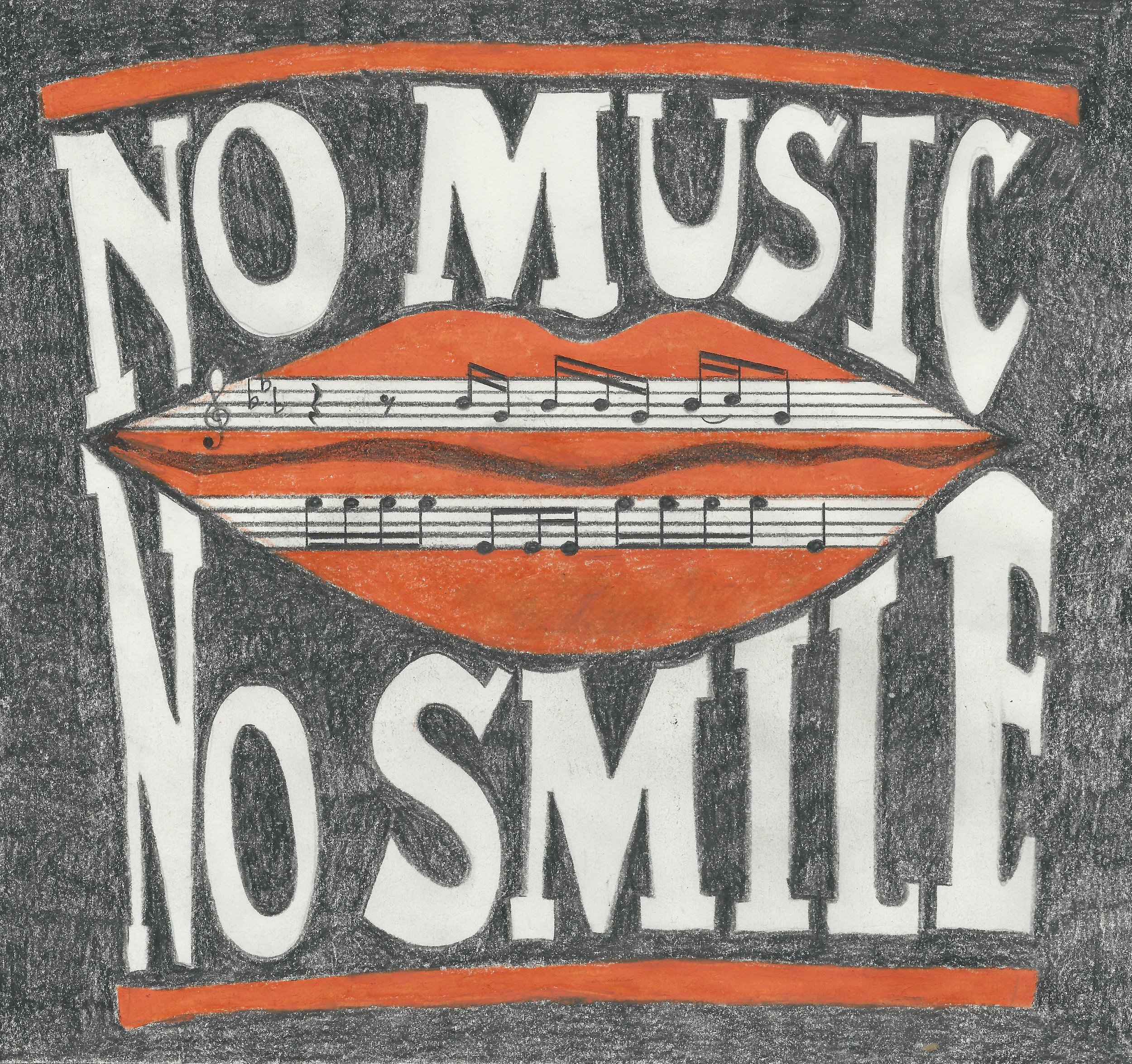 No Music, No Smile - Bibi