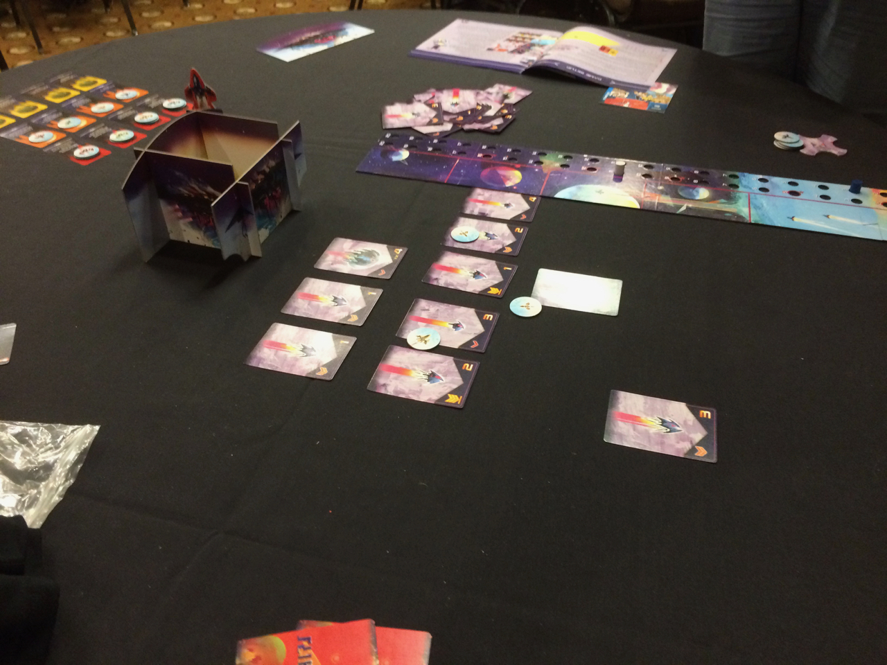 Flipships: a new dexterity game we tried out.