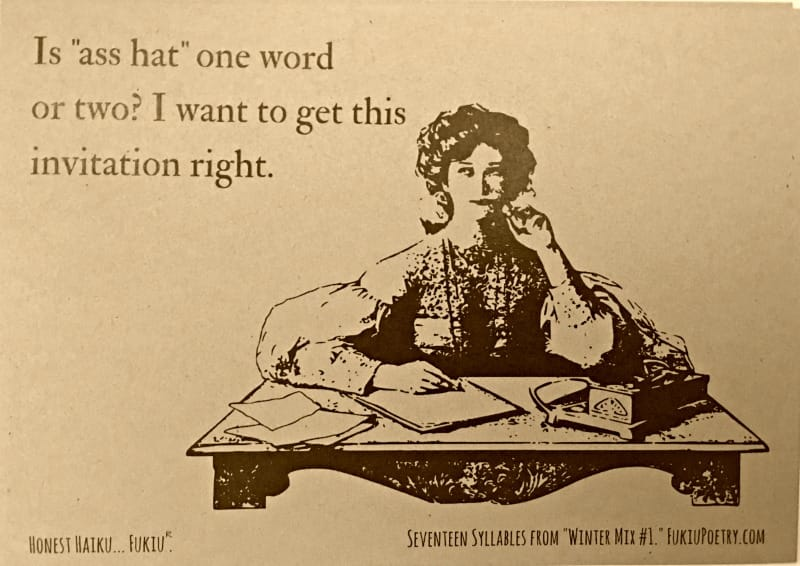 It's one, dear. (Thank you, Merriam-Webster.)