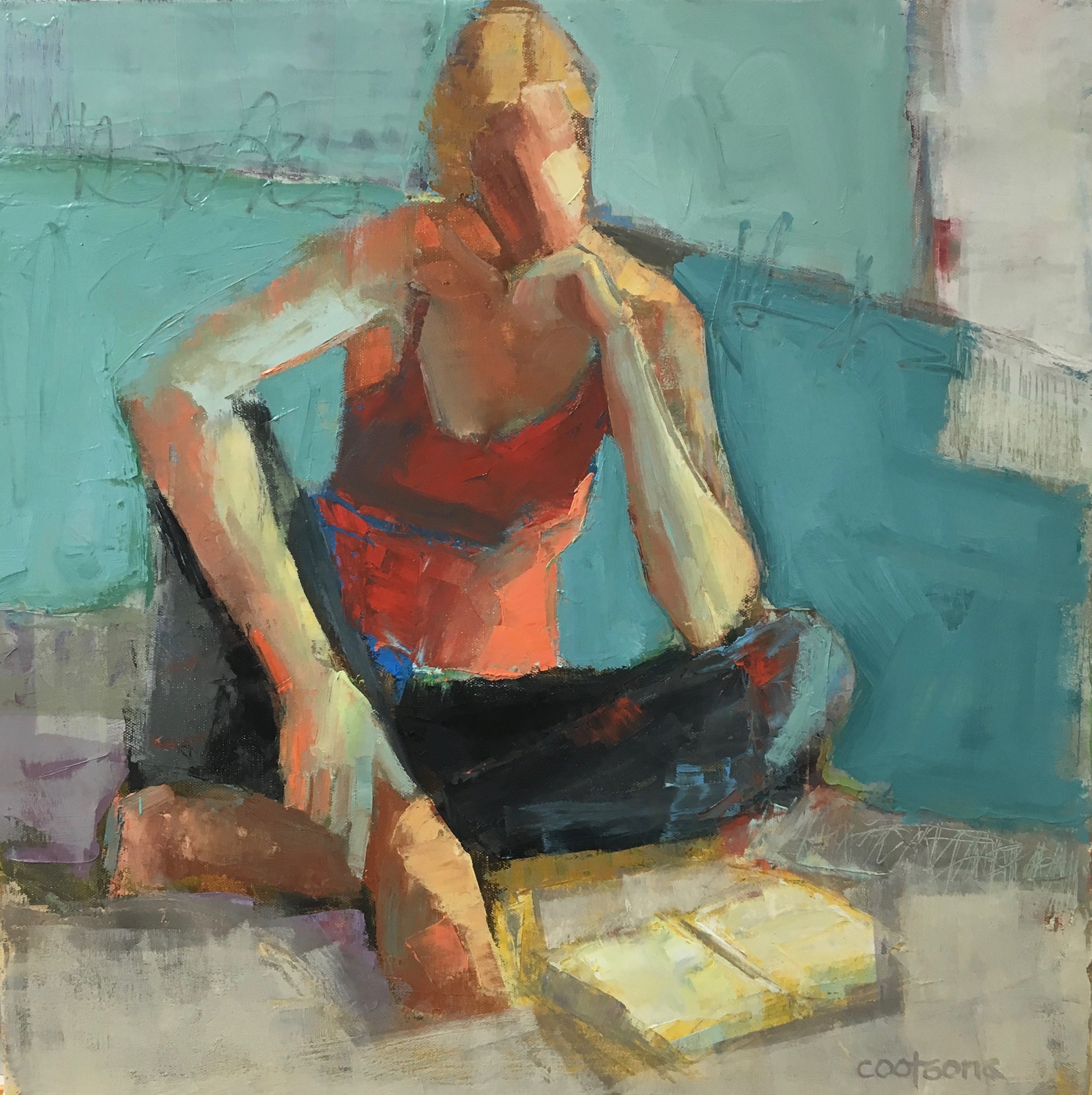 Summer Reading II (sold)