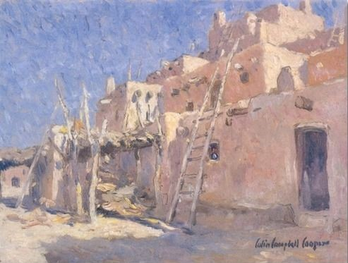 Colin-campbell-cooper - adobe with ladder.jpg