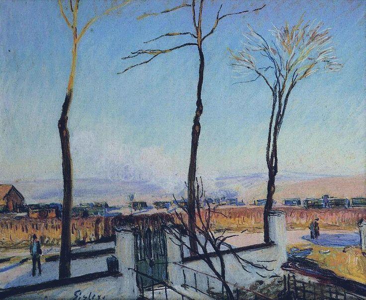 Alfred-Sisley-Winter Sun, Moret.jpg