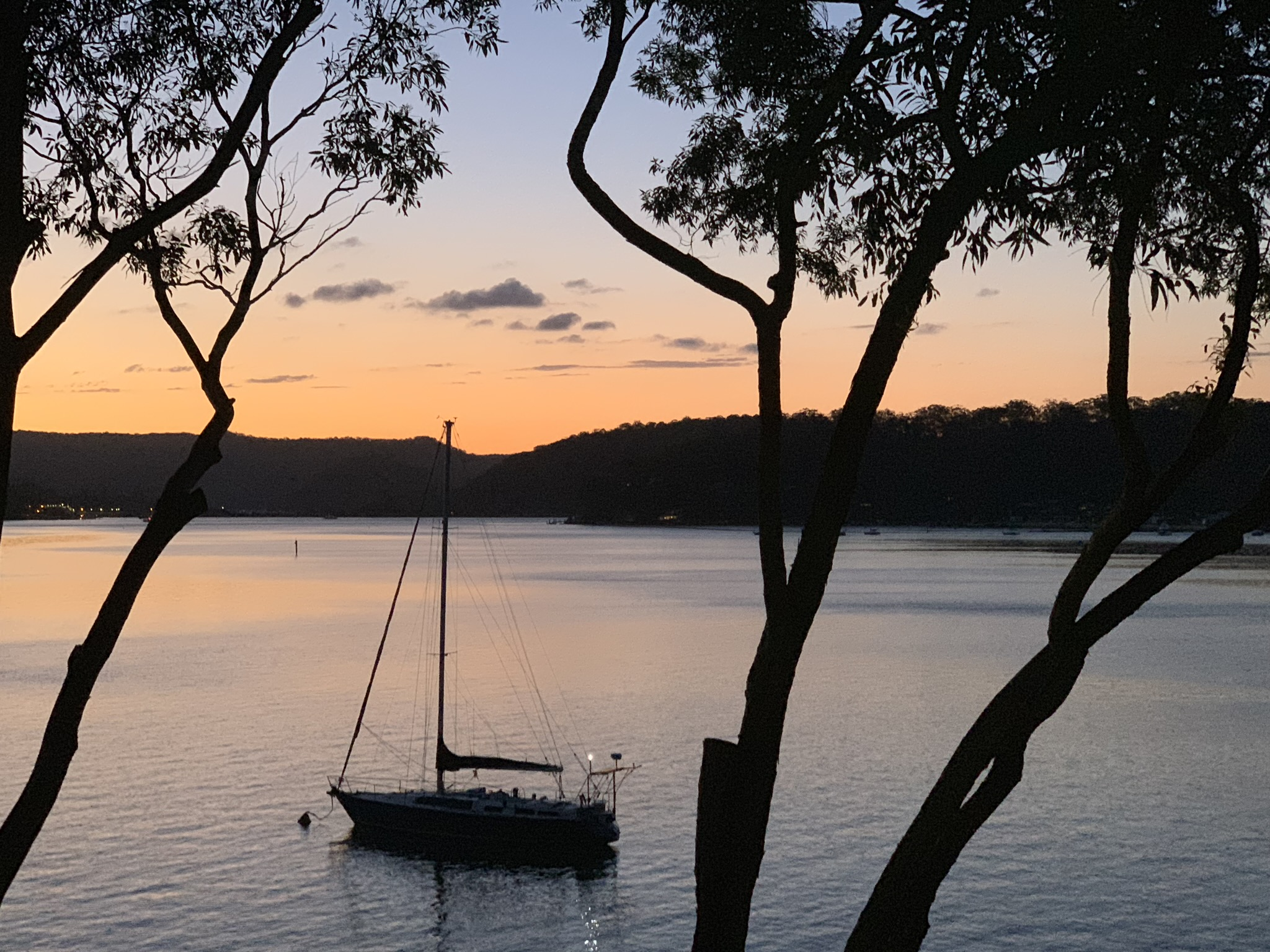 Sunset over the Hawkesbury at Little Wobby.jpeg