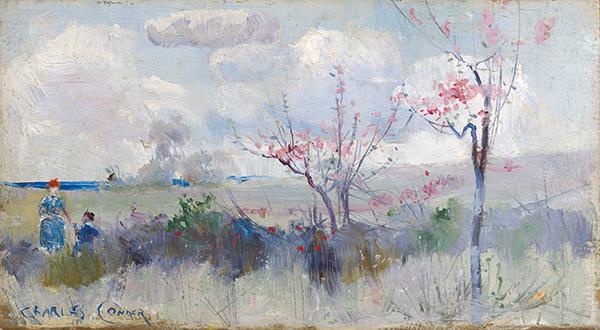 Charles Conder Herrick - Blossoms c1888.jpg