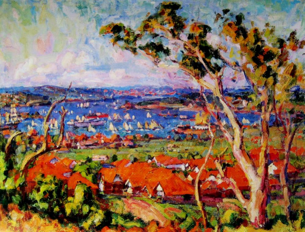 John_Peter_Russell - Regatta Rose Bay - 1922.jpg