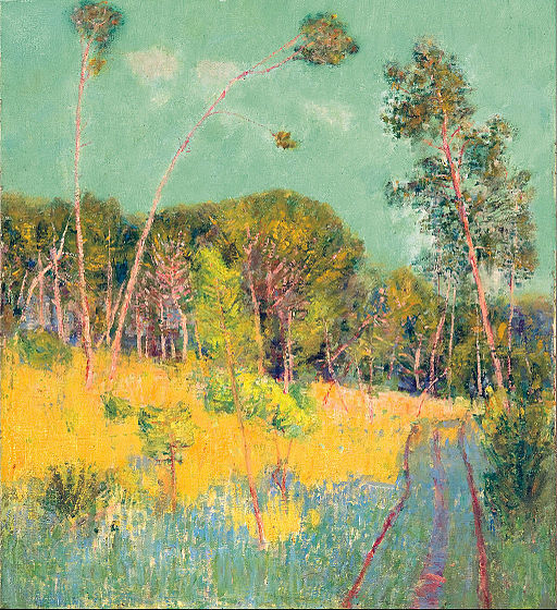 A clearing in the forest - John Peter Russell
