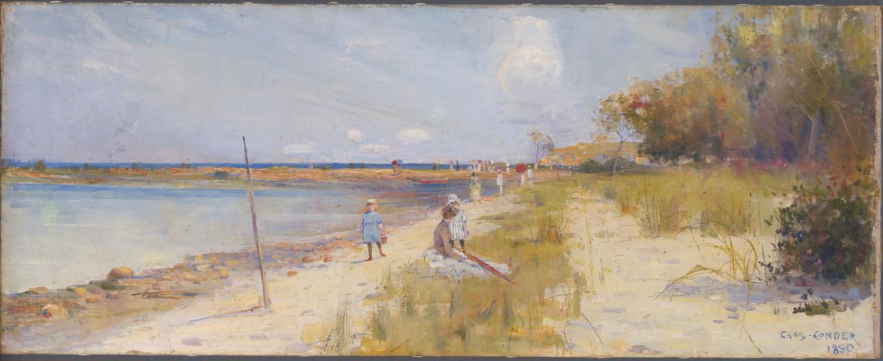 Charles Conder - Rickett's Point - 1890