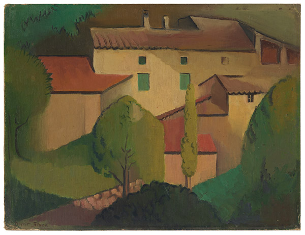 Dorrit Black - Provençale farmhouse 1928