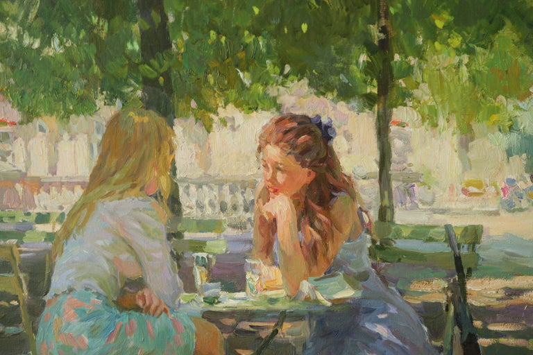 Yuri Krotov - The Conversation Luxembourg Gardens Paris
