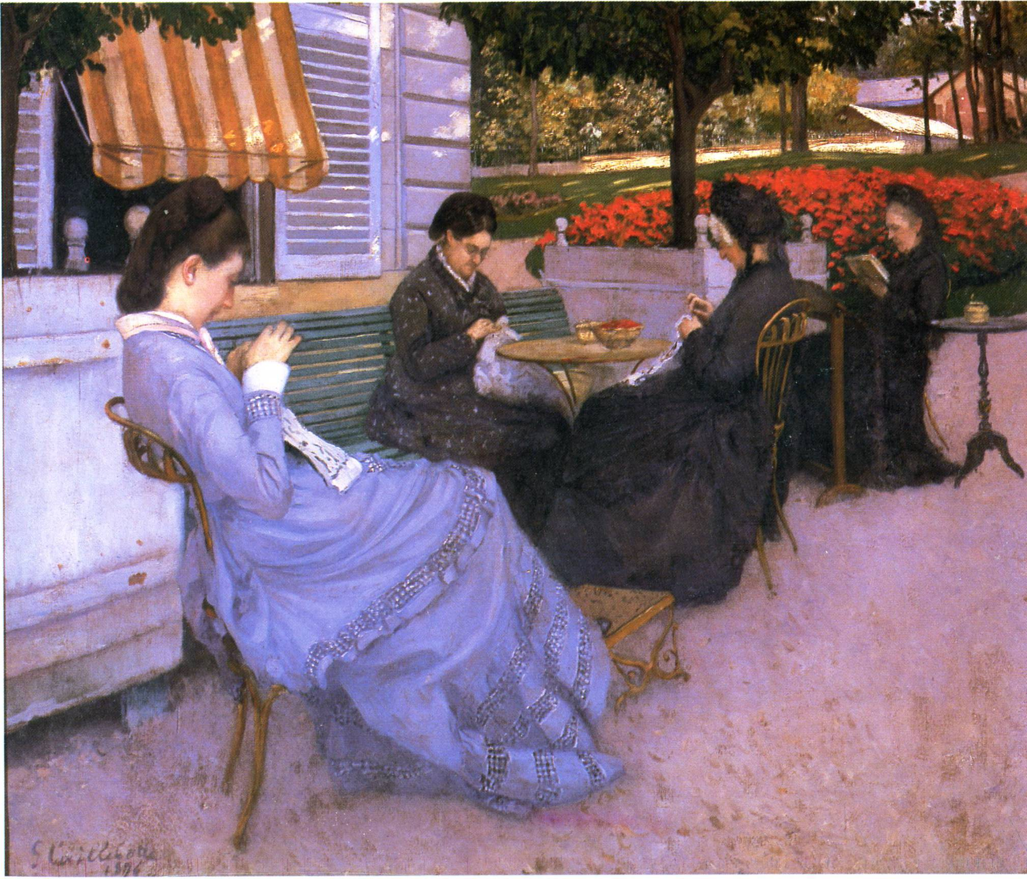 Gustave Caillebotte - Portraits in the Countryside - 1876.jpg