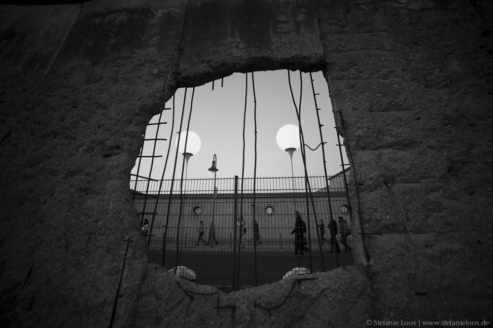 Lichtgrenze zum Mauerfall