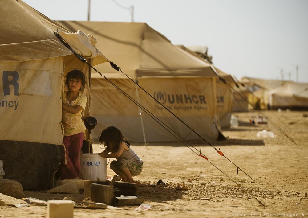 Flüchtlingslager Za'atari